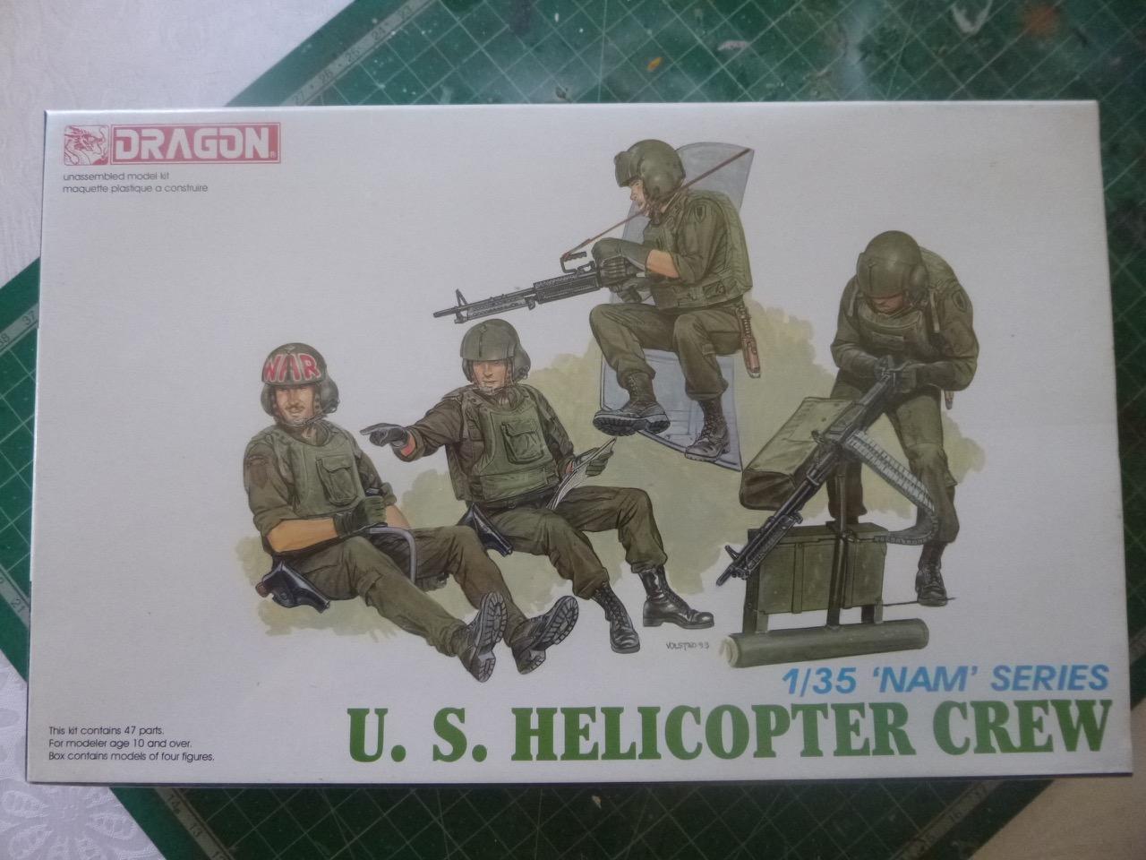 Hélicoptère AH6 little bird + équipage  Dragon 1/35 170601035013899945
