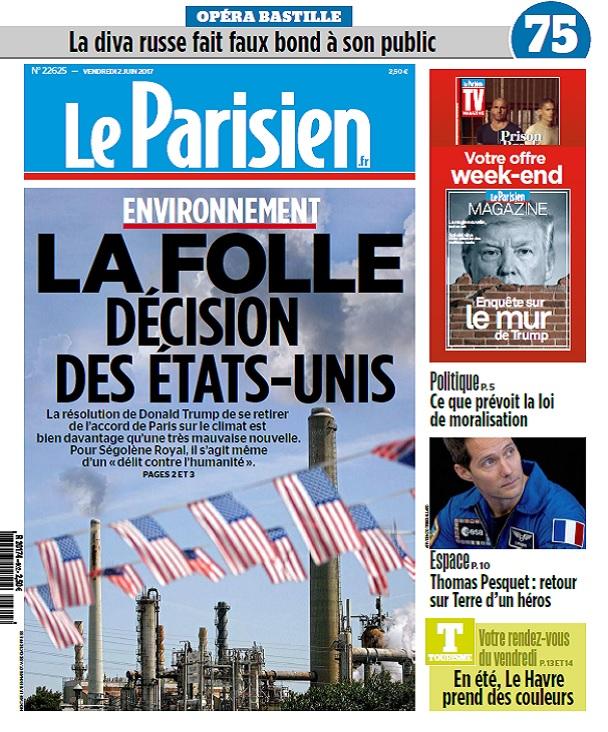 télécharger Le Parisien Du Vendredi 2 Juin 2017