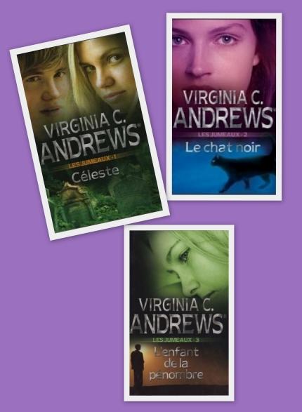 Les jumeaux (3 tomes) de Viginia C Andrews