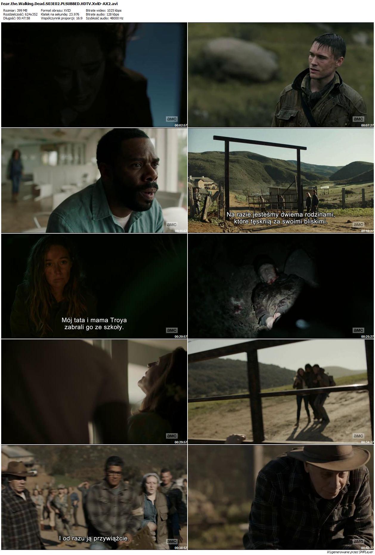 Fear the Walking Dead {Sezon 03} (2017) PL.480p.WEB-DL.AC3.2.0.XviD-Ralf / Lektor PL
