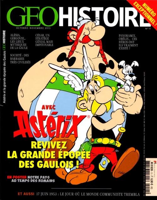 Géo Histoire N°11 - Asterix vous explique tout ! sur Bookys