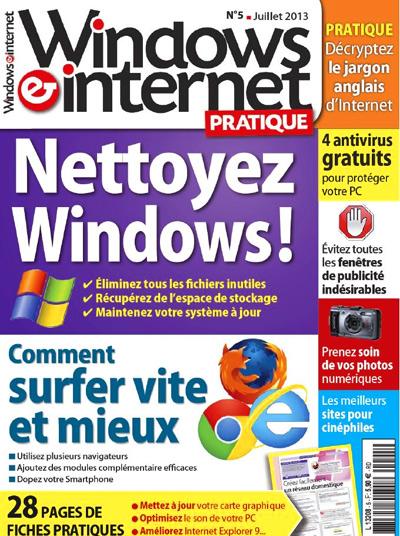Windows & Internet Pratique N°5 - Nettoyez Windows ! sur Bookys