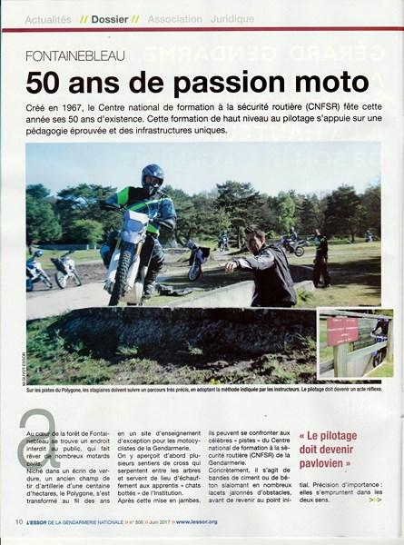 cinquantenaire des formations motos à Fontainebleau (1967-2017) 170607030337650267