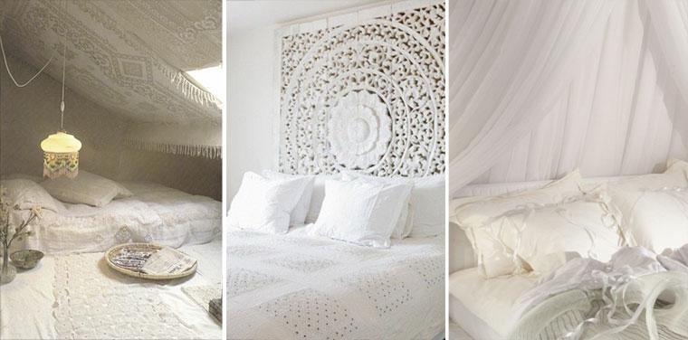 Chambre Gris Et Blanc Romantique