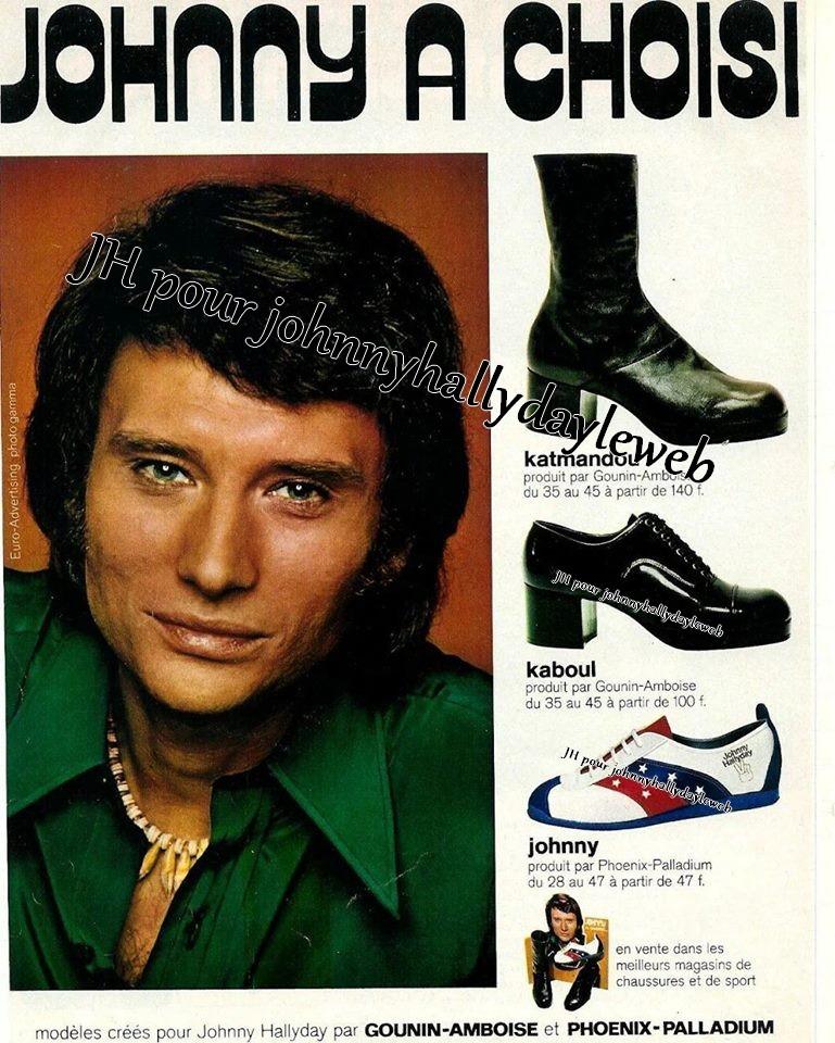 "Chaussures ""Johnny Hallyday"". 170608014229183130"