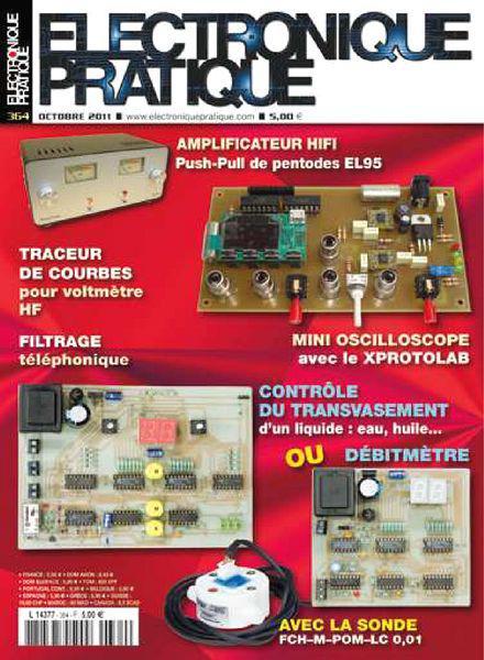 Electronique Pratique N°364 - Controle du Transvasement sur Bookys