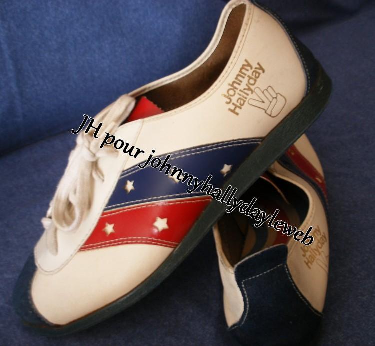 "Chaussures ""Johnny Hallyday"". 170608113426709312"