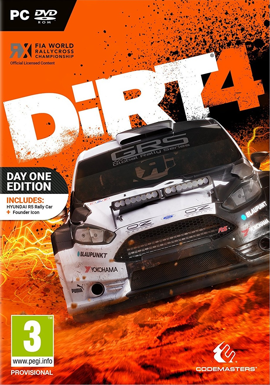Poster for DiRT 4