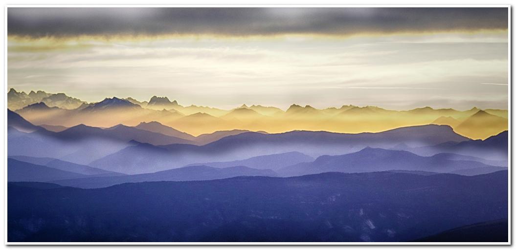 photo de levée de soleil sur le Mont Ventoux 170610065422815319