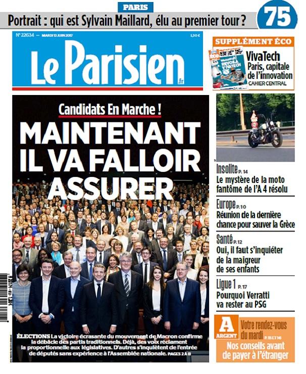 télécharger Le Parisien + Eco + Journal De Paris Du Mardi 13 Juin 2017