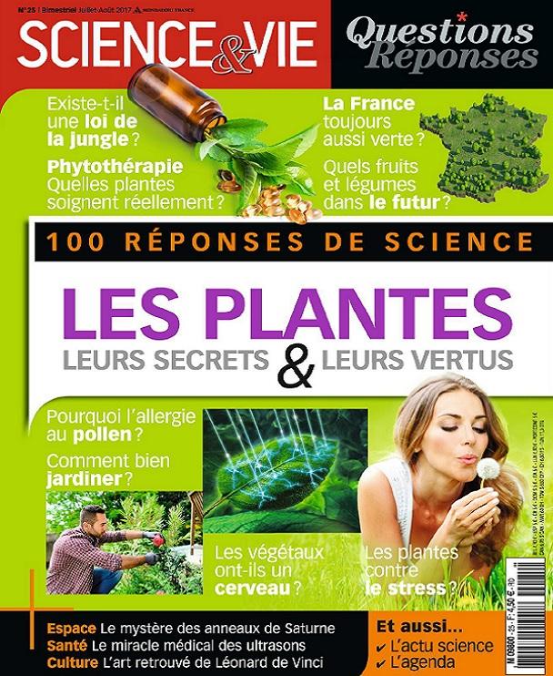 Science et Vie Questions Réponses N°25 - Juillet-Août 2017