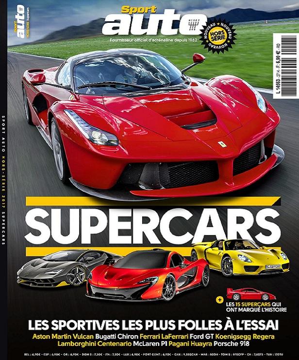 télécharger Sport Auto Hors Série N°27 - Supercars 2017