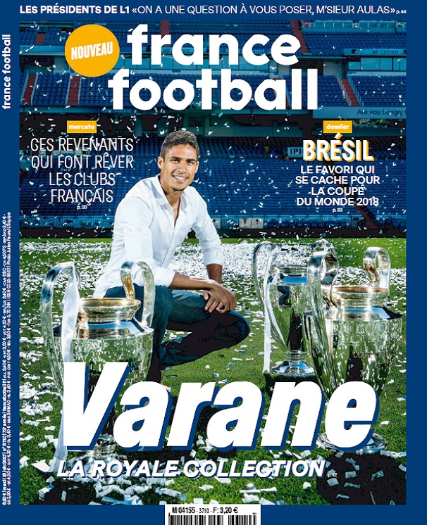 télécharger France Football N°3710 Du 13 Juin 2017