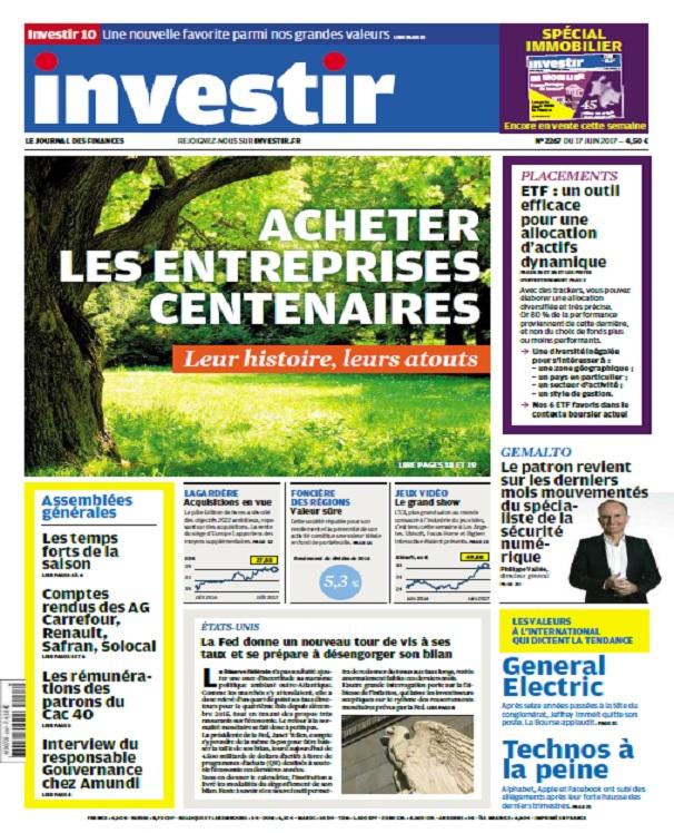 télécharger Investir N°2267 Du 17 Juin 2017