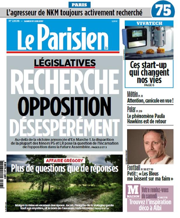 télécharger Le Parisien Du Samedi 17 Juin 2017