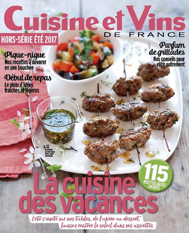 télécharger Cuisine et Vins De France Hors Série N°38 - Été 2017