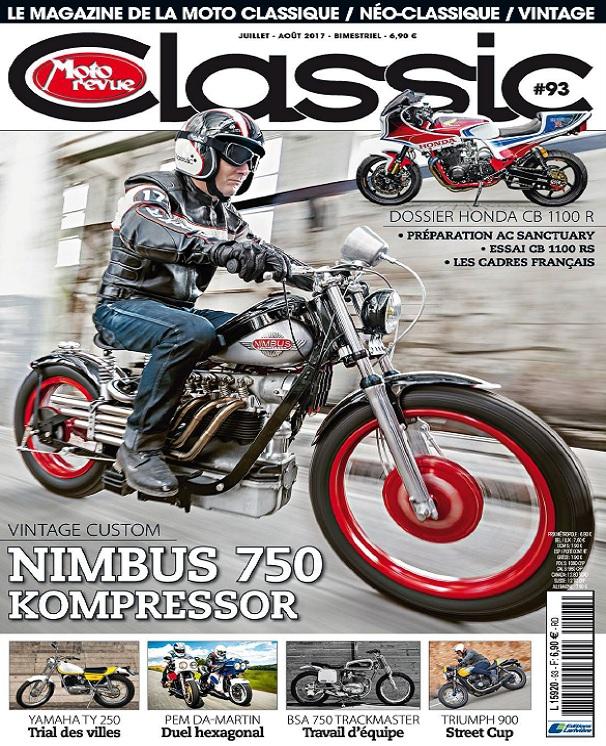 télécharger Moto Revue Classic N°93 - Juillet-Août 2017