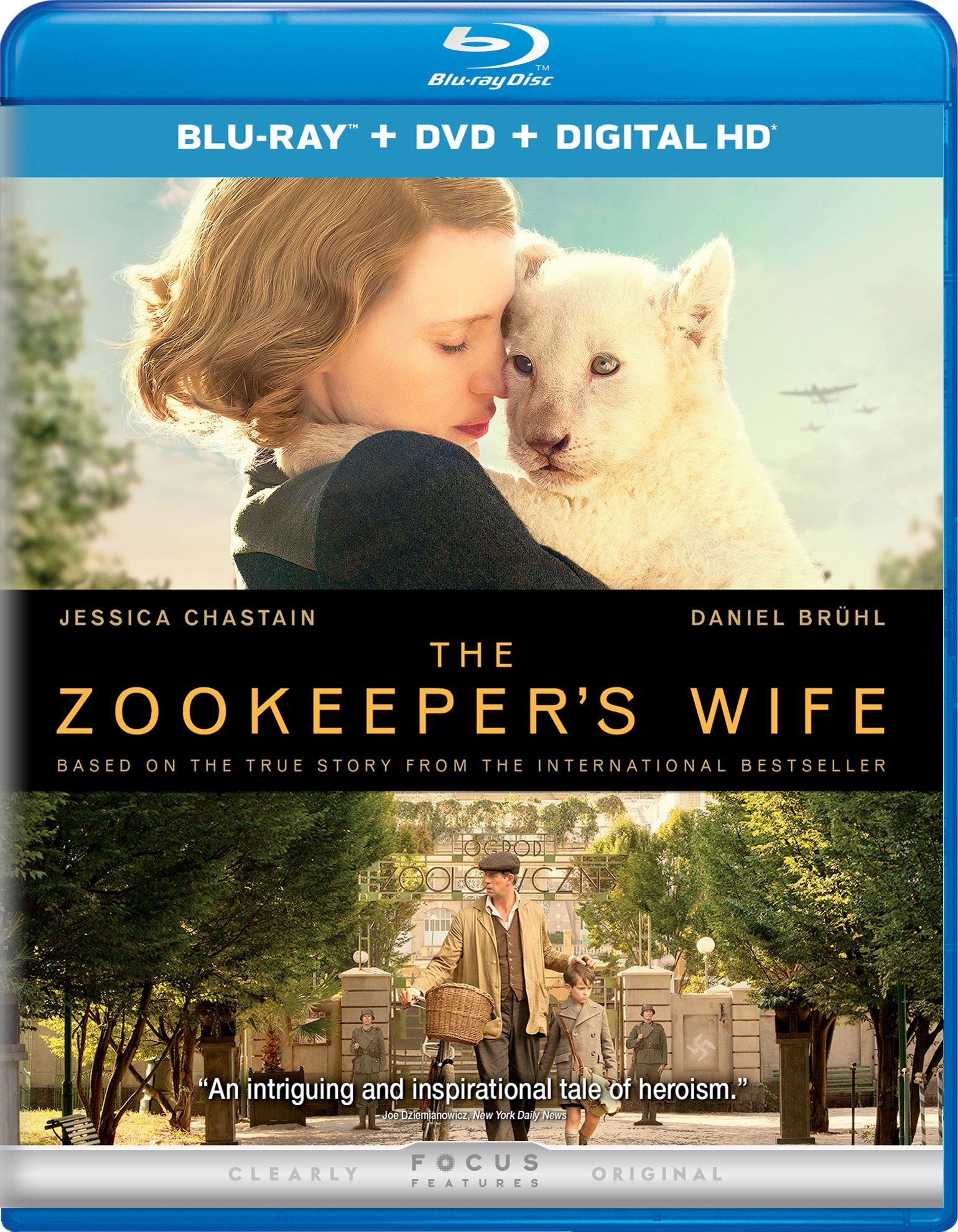 The Zookeepers Wife (2017) poster image