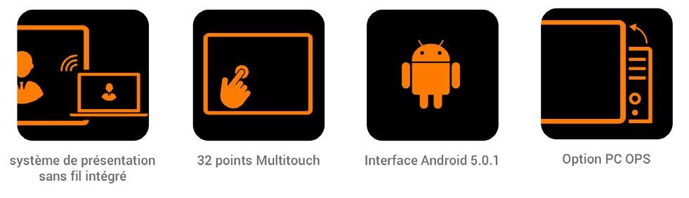 avantages écran easypitch PRO