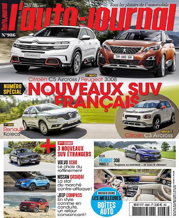 L'Auto-Journal N°986 Du 22 Juin au 19 Juillet 2017
