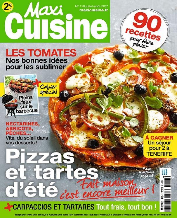 télécharger Maxi Cuisine N°118 - Juillet-Août 2017