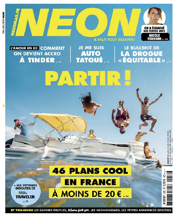 télécharger Neon N°56 - Juillet 2017