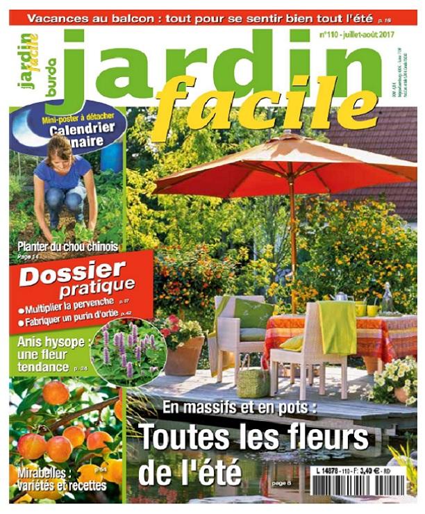 télécharger Jardin Facile N°110 - Juillet-Aout 2017