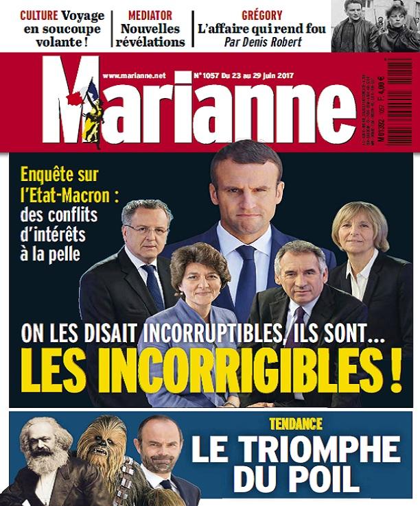 télécharger Marianne N°1057 Du 23 au 29 Juin 2017
