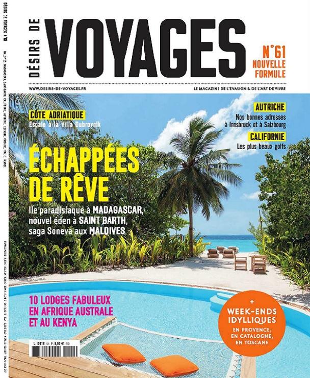 télécharger Désirs De Voyages N°61 - Eté 2017