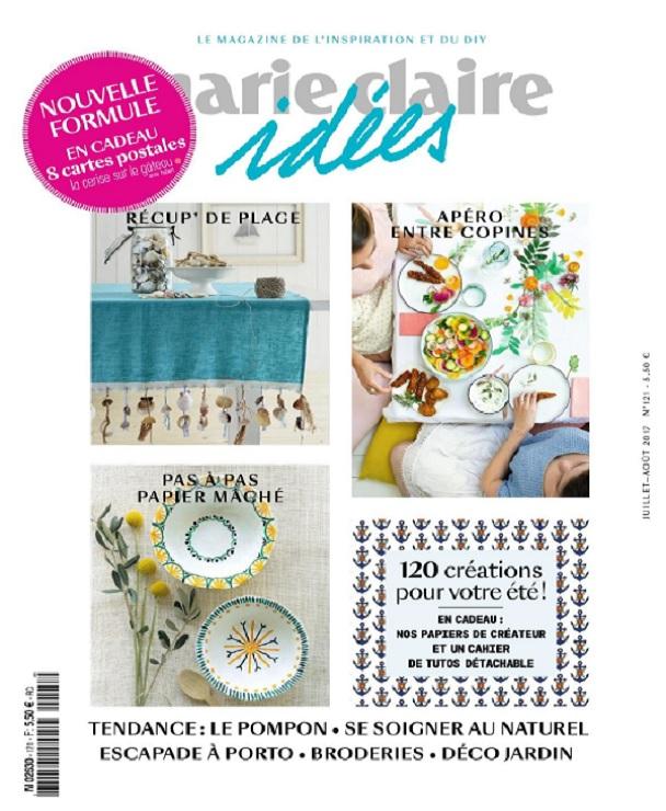 télécharger Marie Claire Idées N°121 - Juillet-Aout 2017