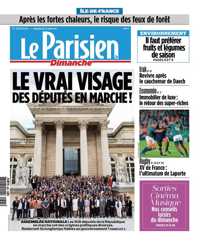 télécharger Le Parisien Du Dimanche 25 Juin 2017