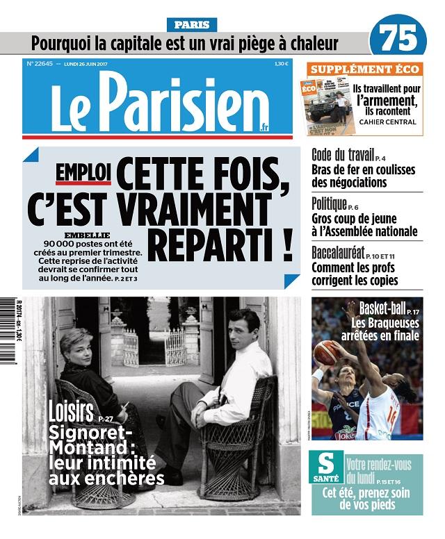 télécharger Le Parisien Du Lundi 26 Juin 2017