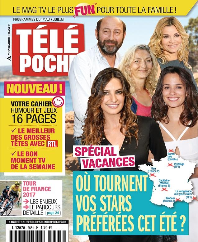 télécharger Télé Poche N°2681 Du 1 au 7 Juillet 2017