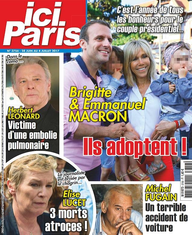télécharger Ici Paris N°3756 Du 28 Juin au 4 Juillet 2017