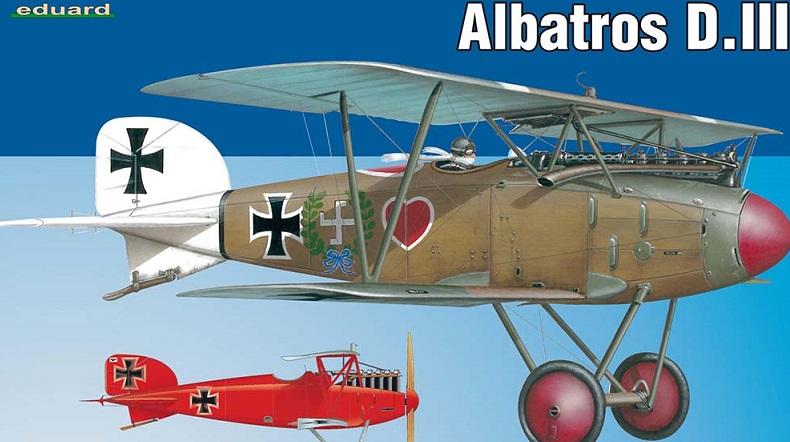 Albatros DIII Eduard 1/48 170628104754827154