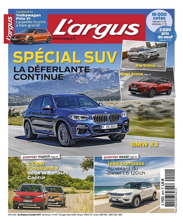 télécharger L'Argus N°4511 Du 29 Juin au 12 Juillet 2017