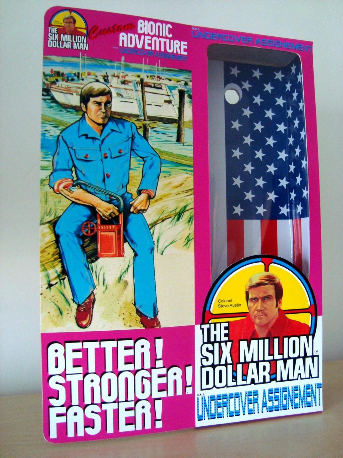Steve Austin L'homme qui valait 3 milliards - KENNER MECCANO - Page 11 17062907124053935