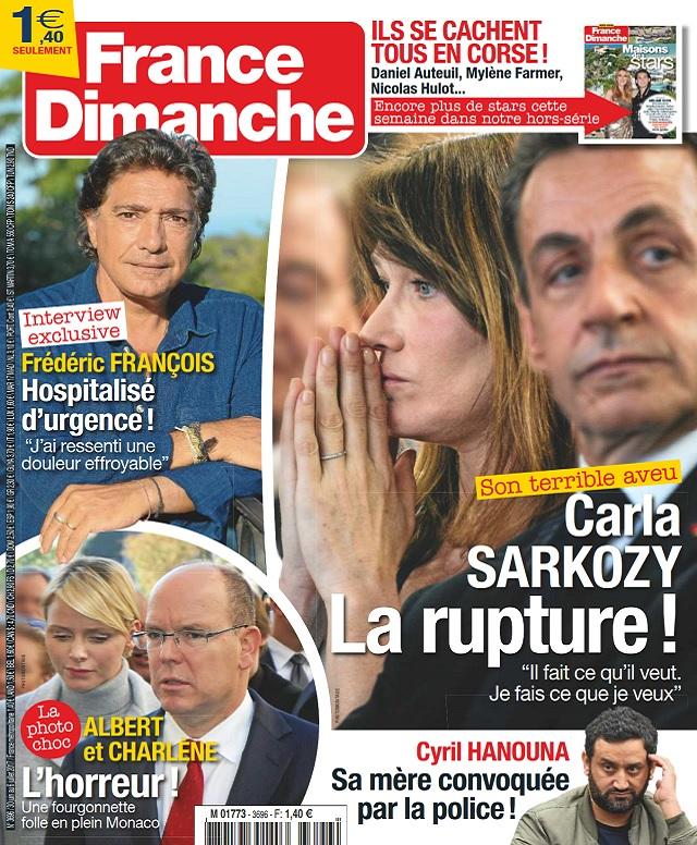 télécharger France Dimanche N°3696 Du 30 Juin au 6 Juillet 2017