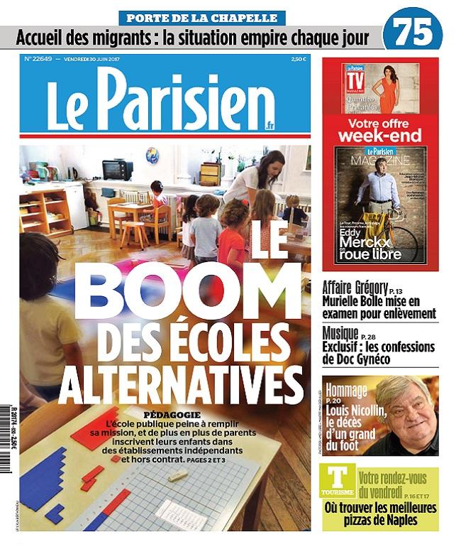 télécharger Le Parisien + Magazine + Journal De Paris Du Vendredi 30 Juin 2017