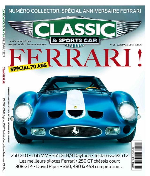 télécharger Classic et Sports Car N°56 - Juillet-Aout 2017