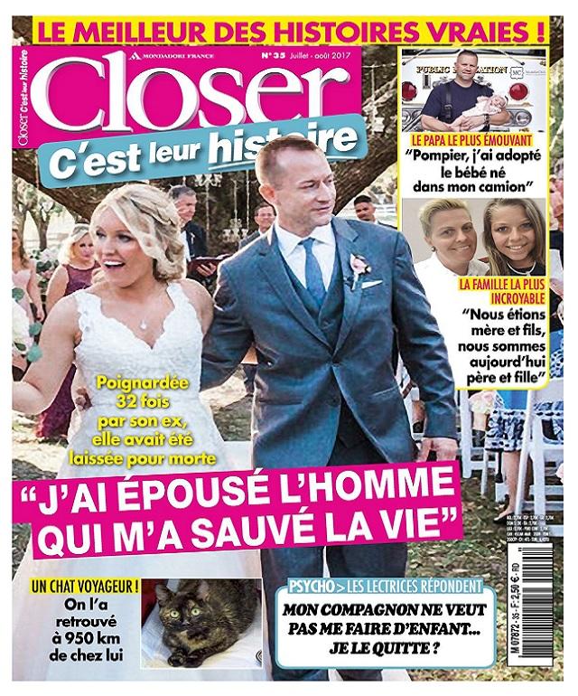 télécharger Closer C'est Leur Histoire N°35 - Juillet-Aout 2017