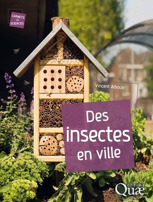 Des insectes en ville sur Bookys