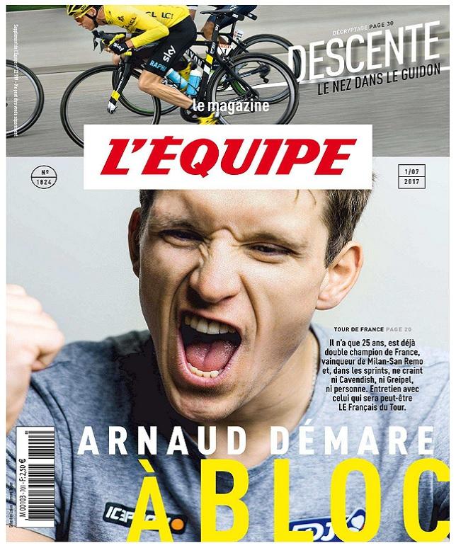 télécharger L'Equipe Magazine N°1824 Du Samedi 1er Juillet 2017