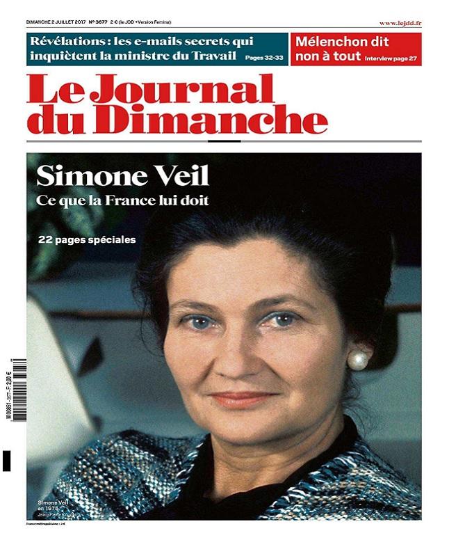 télécharger Le Journal Du Dimanche N°3677 Du 2 Juillet 2017