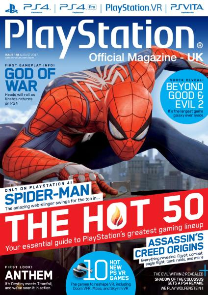 PlayStation Official Magazine UK – August 2017-P2P