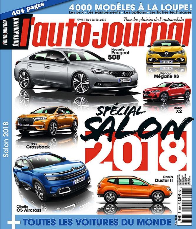 télécharger L'Auto-Journal N°987 Du 6 Juillet 2017