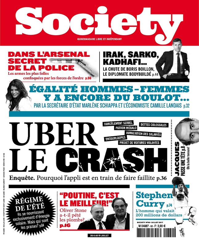 télécharger Society N°60 - Juillet 2017