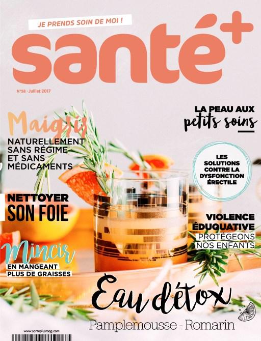 Santé+ N°58 - Juillet 2017