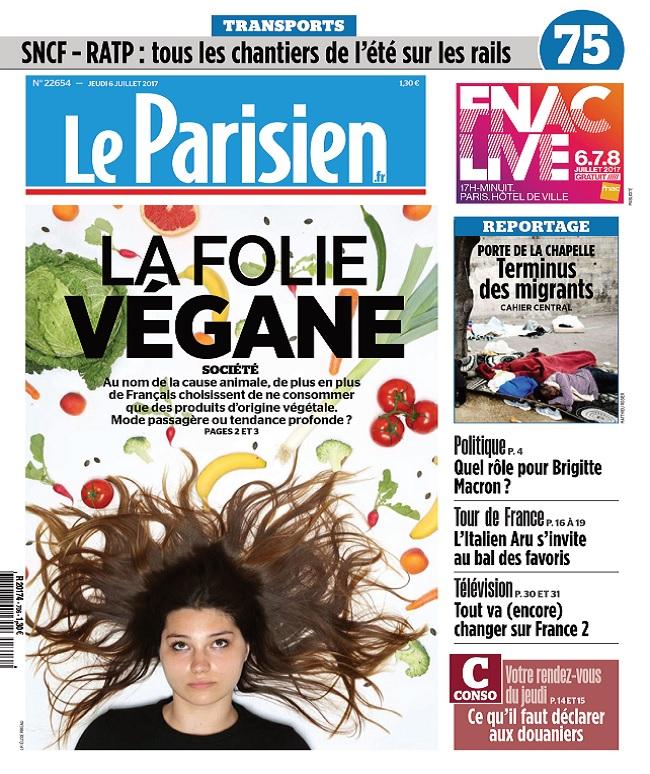 télécharger Le Parisien + Journal De Paris Du Jeudi 6 Juillet 2017