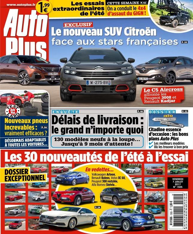 Auto Plus N°1505 Du 7 Juillet 2017